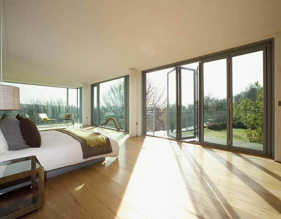 Ανασυρόμενες και τύπου VW  για παράθυρα και πόρτες σε χώρους κατοικίας και αίθριο