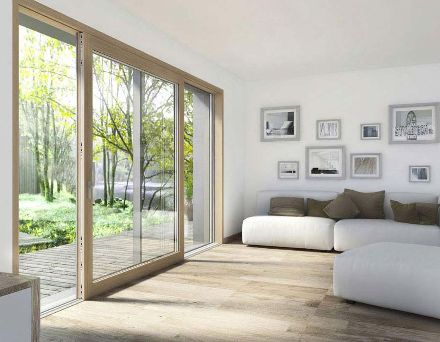 Lift and slide door REHAU euro-design, synego, geneo