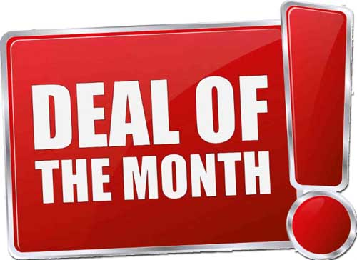 Discover the offers of the month