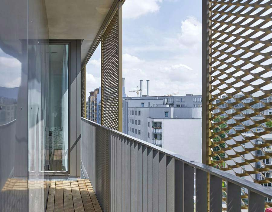 Aluminum shading systems