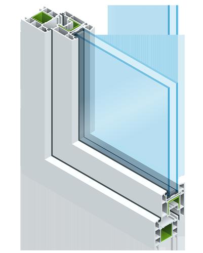 dual energy glass