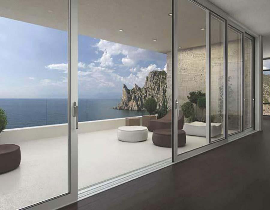 aluminum windows frames opening tilt and turn etem 70 less frame