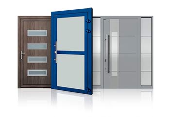 Exterior aluminum doors etem-europa