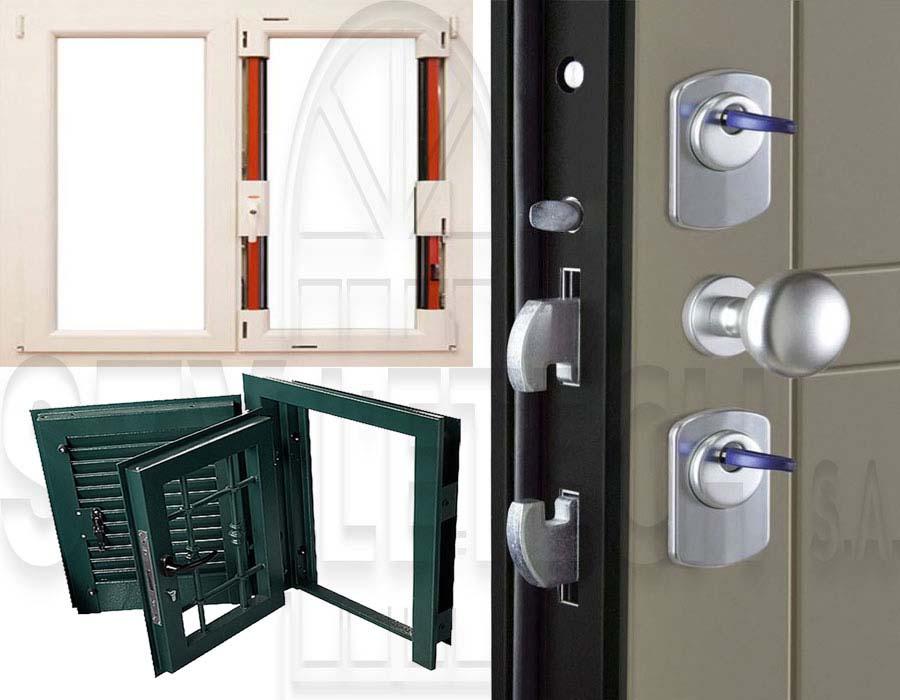 Anti-vandal series in shutters and doors