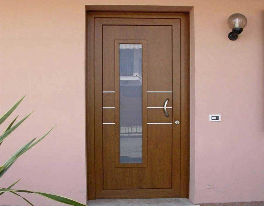 door entrance pvc rehau-kommerling
