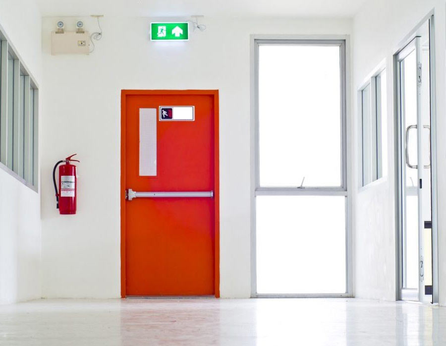 Οι πυράντοχες πόρτες ΝΙΝΖ διακρίνονται για την άρτια κατασκευή