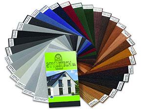 Πλήρη συλλογή σε χρώματα και σε πολλές αποχρώσεις για αλουμινένιες επιφάνειες