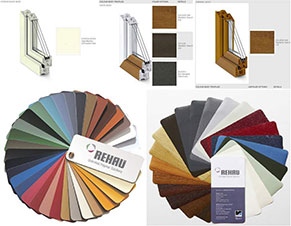 Synthetic Frame Color List with Order